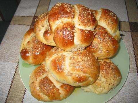 Тесто для булочек на кефире с фото пошагово